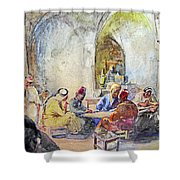 Jerusalem Cafe Shower Curtain