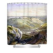 Jerusalem From The South Shower Curtain