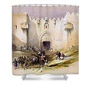 Jerusalem Gate Shower Curtain
