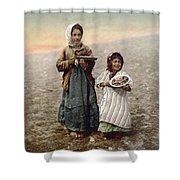 Jerusalem Girls, C1900 Shower Curtain
