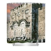 Jerusalem Golden Gate  Shower Curtain