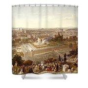 Jerusalem In Her Grandeur Shower Curtain