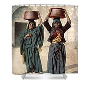 Jerusalem: Milk Seller Shower Curtain