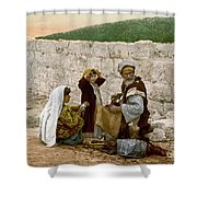 Jerusalem Shoemaker, C1900 Shower Curtain