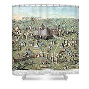 Jerusalem: Solomons Temple Shower Curtain