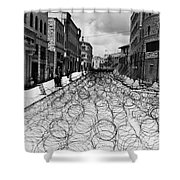 Jerusalem: Street, 1948 Shower Curtain