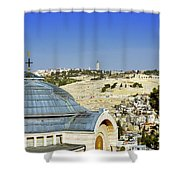 Jerusalem View Shower Curtain