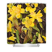 Jessamine Jungle Shower Curtain