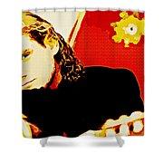 Jesse Cook Shower Curtain