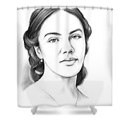 Jessica Findlay Shower Curtain