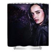 Jessica Jones Shower Curtain