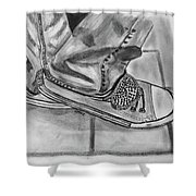 Jessicas Sneakers Shower Curtain