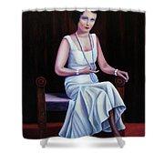 Jessie Mckay Lane Shower Curtain