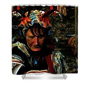 Jester Somnolent Shower Curtain