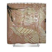 Jesus - Tile Shower Curtain