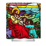 Jesus And Children Shower Curtain