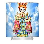 Jesus Child Shower Curtain