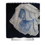 Jesus Christ And Mother Mary Shower Curtain