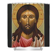 Jesus Christ Holy Forgiveness 040 Shower Curtain