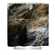 Jesus Christ- You Are My Hiding Place And My Shield Shower Curtain