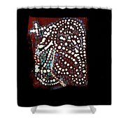 Jesus Gethsemane Shower Curtain