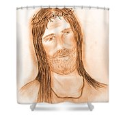 Jesus In The Light Shower Curtain