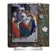 Jesus: Last Supper Shower Curtain