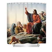 Jesus Lord Shower Curtain