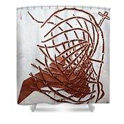 Jesus Of Gethsemane - Tile Shower Curtain