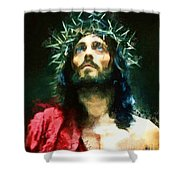 Jesus Of Nazareth Shower Curtain