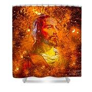 Jesus Shower Curtain
