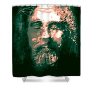 Jesus The Man Shower Curtain
