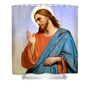 Jesus Weeping Over Jerusalem Shower Curtain