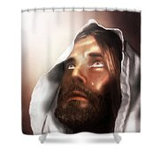 Jesus Wept Shower Curtain