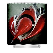 Jet Car Shower Curtain