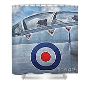 Jet Fighter By John Springfield Shower Curtain