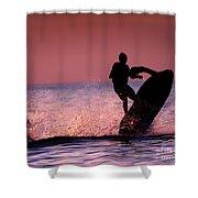 Jet Ski On Lake Erie Shower Curtain