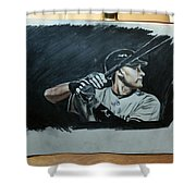 Jeter A Classic Shower Curtain