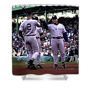 Jeter And Torre Shower Curtain