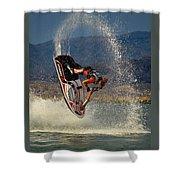 Jetski Flip Shower Curtain