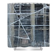 Jeux De Glace I / Ice Setting I Shower Curtain