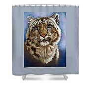 Jewel Shower Curtain by Barbara Keith