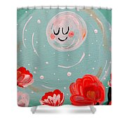 Jewel Moon Shower Curtain