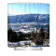 Jewel Of The Okanagan Shower Curtain