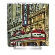 Jewel Of The South Tivoli Chattanooga Historic Theater Art Shower Curtain