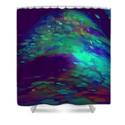 Jewelled Cave Of Dreams Shower Curtain