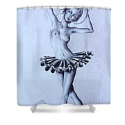 Jewelry Box Shower Curtain