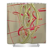 Jewelry On A Stick 6 Shower Curtain