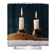 Jewish Holiday Symbol, Jewish Food Passover Jewish Passover Shower Curtain