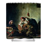 Jewish Musicians In Mogador Shower Curtain
